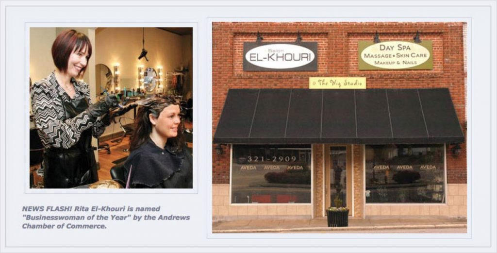 About Salon El-Khouri and owner, Rita El-Khouri